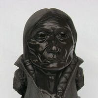 """Buffalo Creation"" (Chief Sitting Bull) by Gerald Sandau - search and link Sculpture with SculptSite.com"