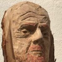 Sean Dyche Head in 5.5 hours by John Adamson - search and link Sculpture with SculptSite.com