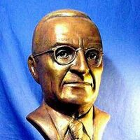 Harry Truman by Robert Toth - search and link Sculpture with SculptSite.com