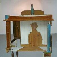At Home With His unfinished Aloneness by Andrew Litten - search and link Sculpture with SculptSite.com