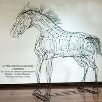 Caronte by Cynthia Saenz - search and link Sculpture with SculptSite.com