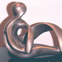 Reclining Woman by Debora Solomon - search and link Sculpture with SculptSite.com