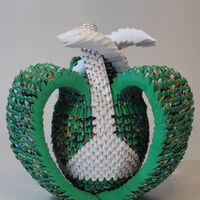 Eves Apple by Francene Levinson - search and link Sculpture with SculptSite.com