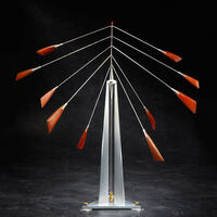 Pendulum by Jeff Kahn - search and link Sculpture with SculptSite.com