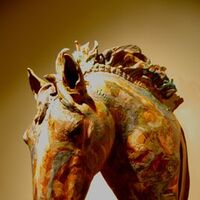 Horse by Carol Fleming - search and link Sculpture with SculptSite.com