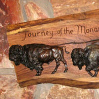 Journey of the Monarchs by James Muir - search and link Sculpture with SculptSite.com
