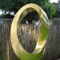 INFINITY (homage to Constantin Brâncuși) by Plamen Yordanov - search and link Sculpture with SculptSite.com