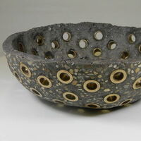 Bushing Bowl by Tom Zaroff - search and link Sculpture with SculptSite.com