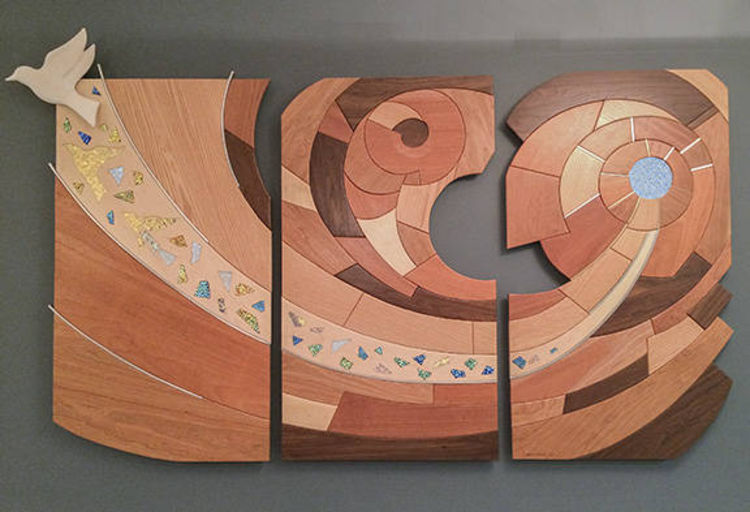 Wall mural by Mark Carroll - search and link Sculpture with SculptSite.com