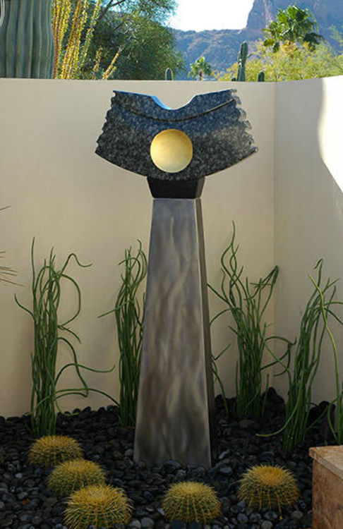 Lunar by Mark Carroll - search and link Sculpture with SculptSite.com
