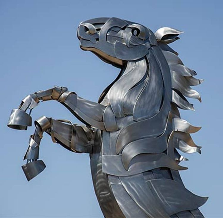 Spirit of the Horse by Mark Carroll - search and link Sculpture with SculptSite.com