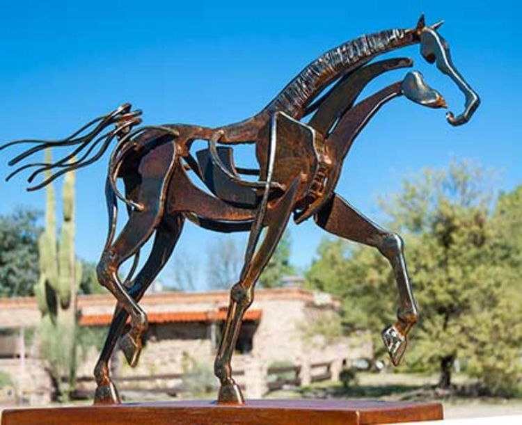 Like the Wind by Mark Carroll - search and link Sculpture with SculptSite.com