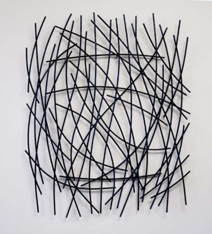 Twig Wall Hanging by Mark Carroll - search and link Sculpture with SculptSite.com