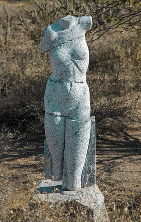 Archaic Figure by Mark Carroll - search and link Sculpture with SculptSite.com