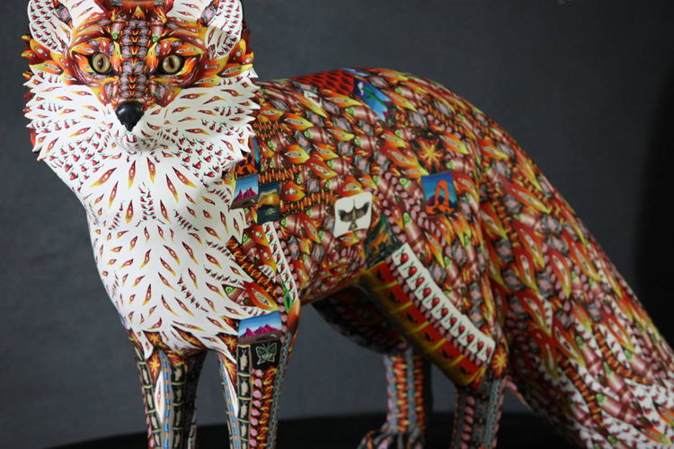 Red Fox by Adam Rees - search and link Sculpture with SculptSite.com