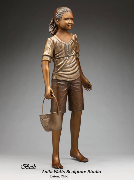 Beth by Anita Watts - search and link Sculpture with SculptSite.com