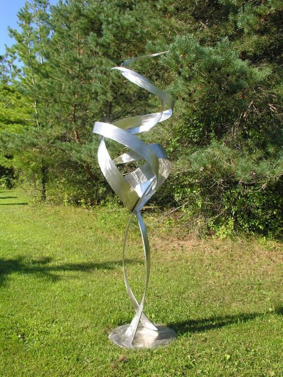 Spatial Harmony by Bruce A Niemi - search and link Sculpture with SculptSite.com