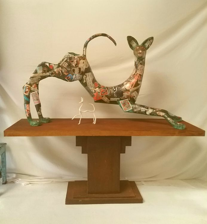 Playful  by Christopher Stone - search and link Sculpture with SculptSite.com