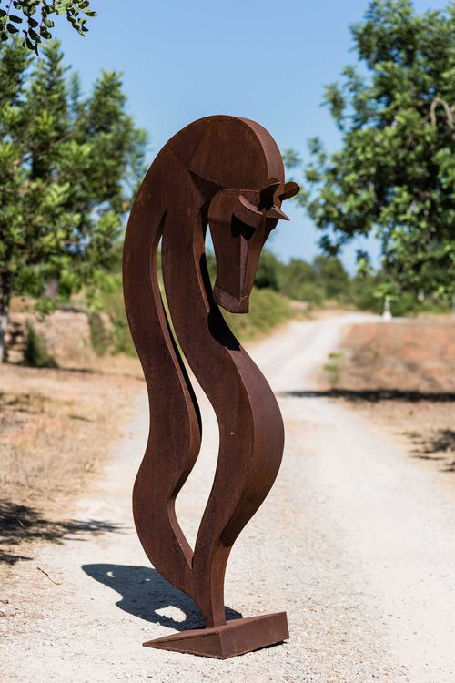 Demure by Christopher Stone - search and link Sculpture with SculptSite.com