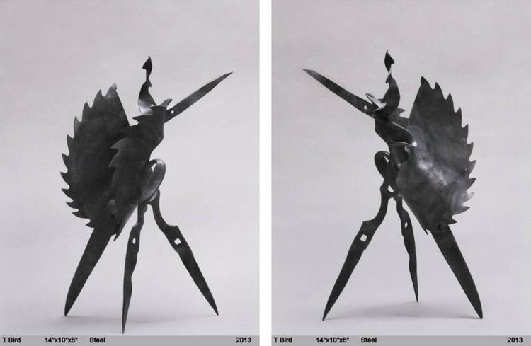 Tbird by Daniel Sinclair - search and link Sculpture with SculptSite.com