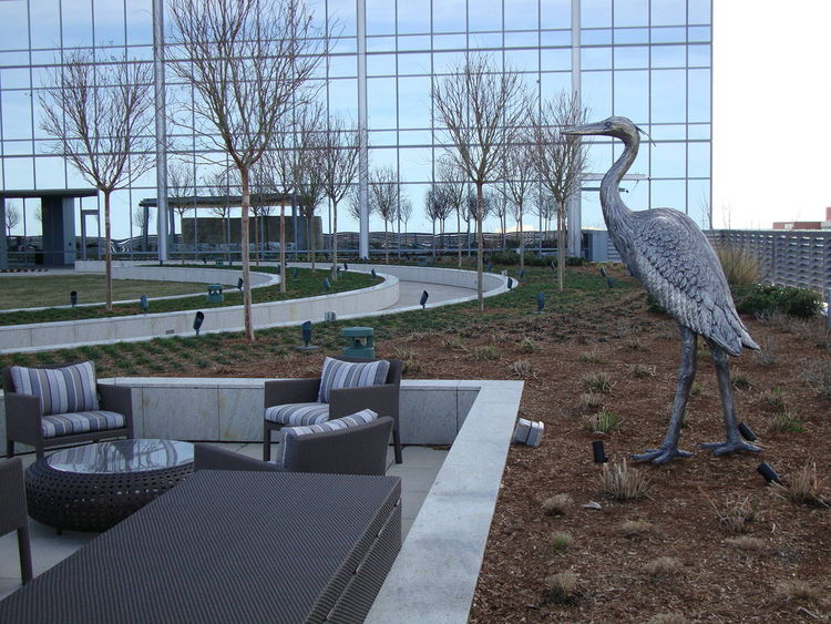 Monuments - Heron Hoot by Edd Hayes - search and link Sculpture with SculptSite.com