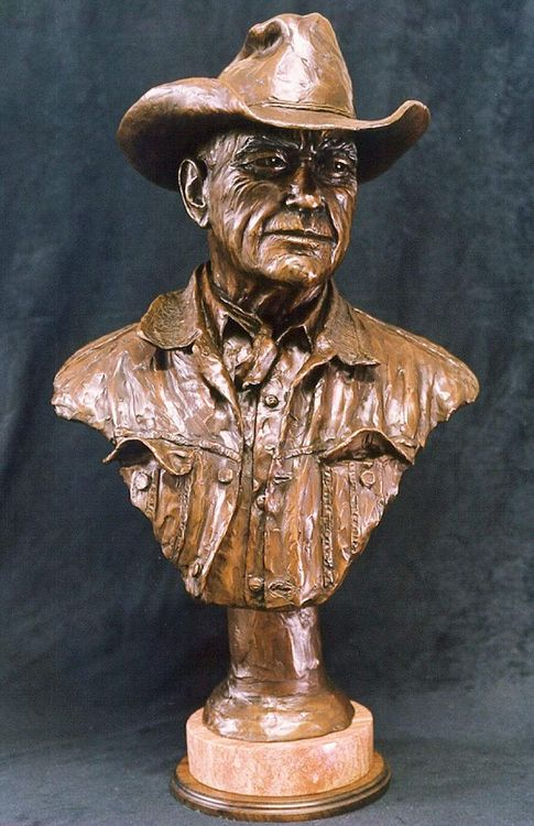Portraits - Jasper by Edd Hayes - search and link Sculpture with SculptSite.com