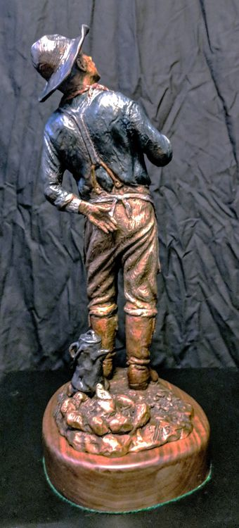 Western - Hot Coffee, a Warm Fire and Shooting Stars by Edd Hayes - search and link Sculpture with SculptSite.com