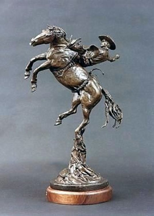 Legends of Rodeo - Jack Buschbom, Wild and Wicked by Edd Hayes - search and link Sculpture with SculptSite.com