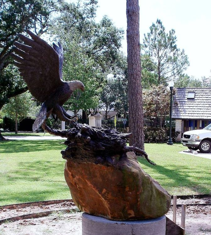 Monuments - Spirit of America by Edd Hayes - search and link Sculpture with SculptSite.com