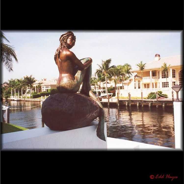 Monumental - Mermaids - If Only (Life-size) by Edd Hayes - search and link Sculpture with SculptSite.com
