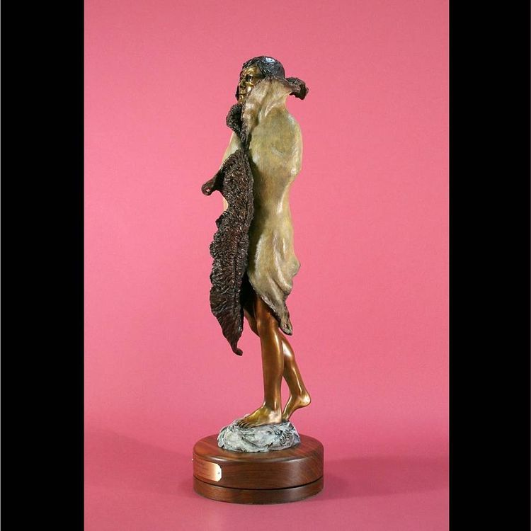 Western - Dream Walker by Edd Hayes - search and link Sculpture with SculptSite.com