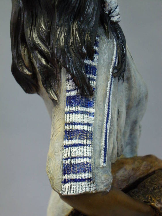 Western - Shenandoah, Beautiful Daughter of the Stars by Edd Hayes - search and link Sculpture with SculptSite.com