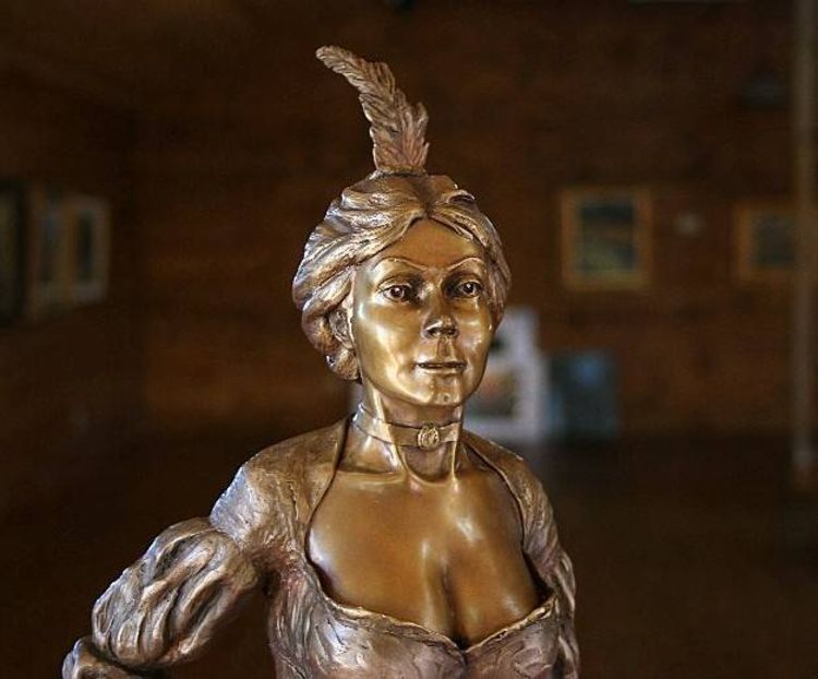 Western - Unbridled Spirit by Edd Hayes - search and link Sculpture with SculptSite.com