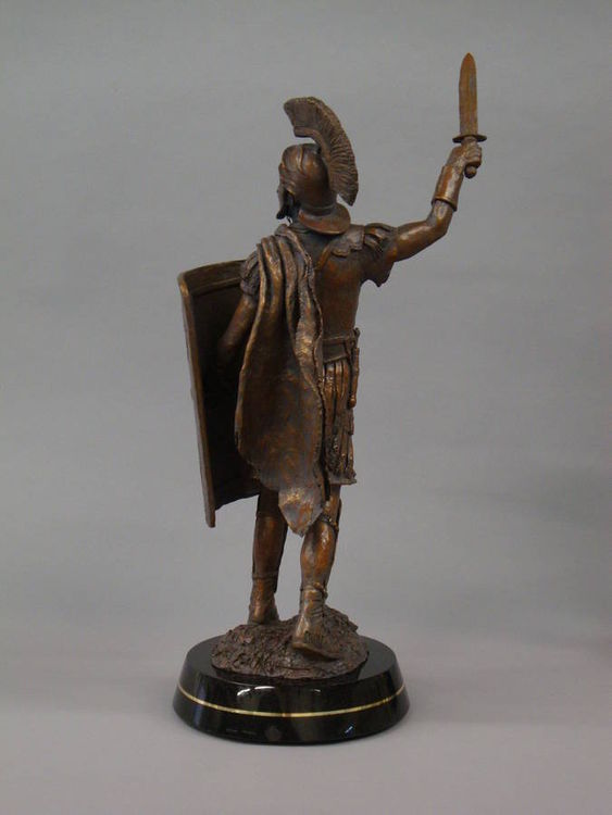 Ancient Warriors - Roman Centurion by Edd Hayes - search and link Sculpture with SculptSite.com