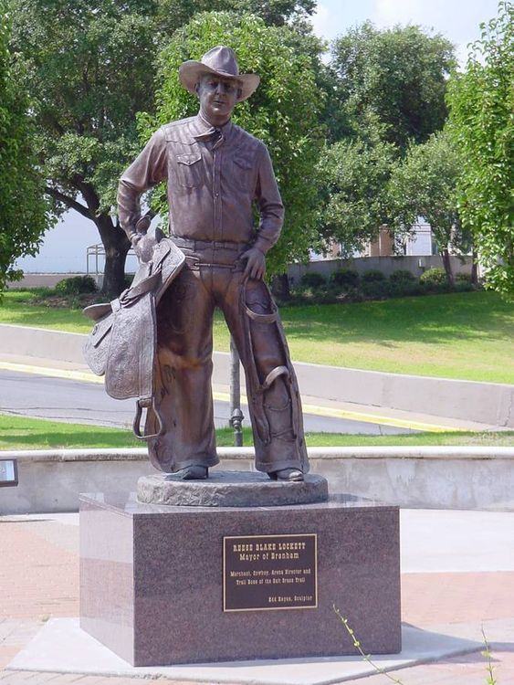 Monuments - Reese B. Lockett by Edd Hayes - search and link Sculpture with SculptSite.com
