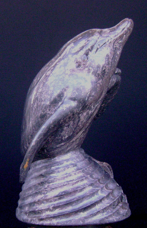 First Breath (Dolphin and Pup) by Gerald Sandau - search and link Sculpture with SculptSite.com