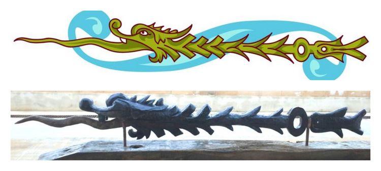 Fyfe Dragon by John Adamson - search and link Sculpture with SculptSite.com