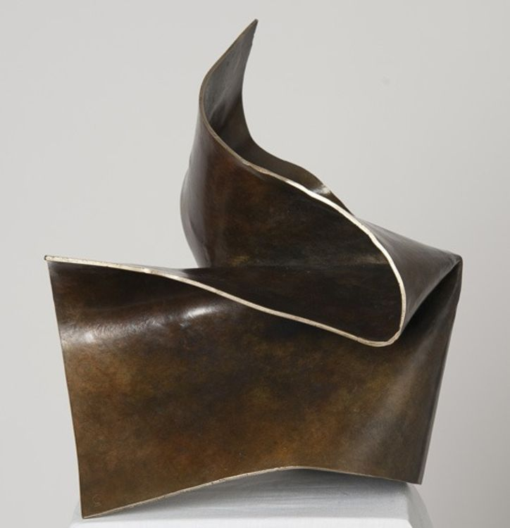 Folded Form 4 by Joe Gitterman - search and link Sculpture with SculptSite.com