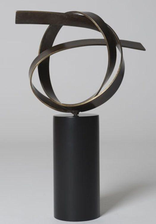 Open Knot by Joe Gitterman - search and link Sculpture with SculptSite.com