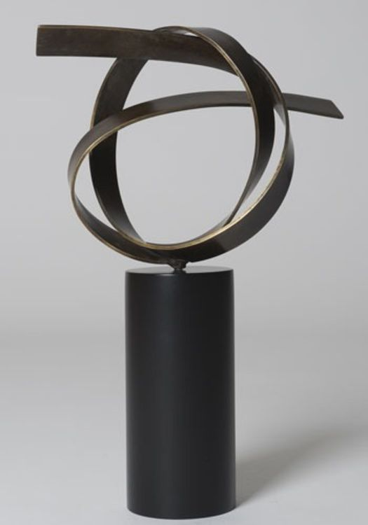 Open Knot by Joe Gitterman - search and link Sculpture with SculptSite.com