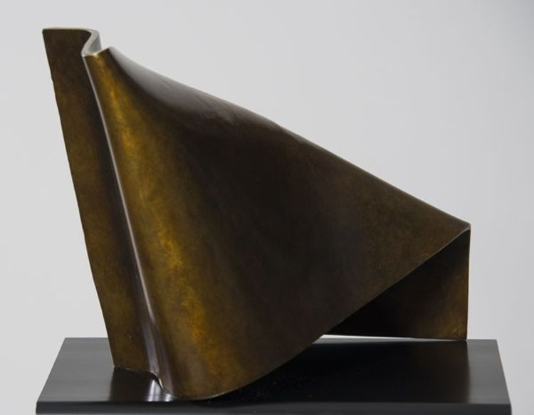 Folded Form 9 by Joe Gitterman - search and link Sculpture with SculptSite.com
