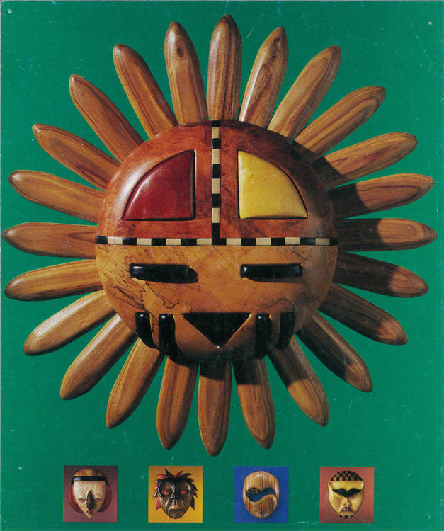 Hopi Sun by Larry Lefner - search and link Sculpture with SculptSite.com
