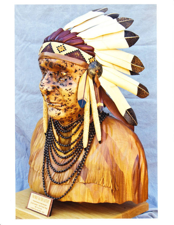Chief Joseph by Larry Lefner - search and link Sculpture with SculptSite.com