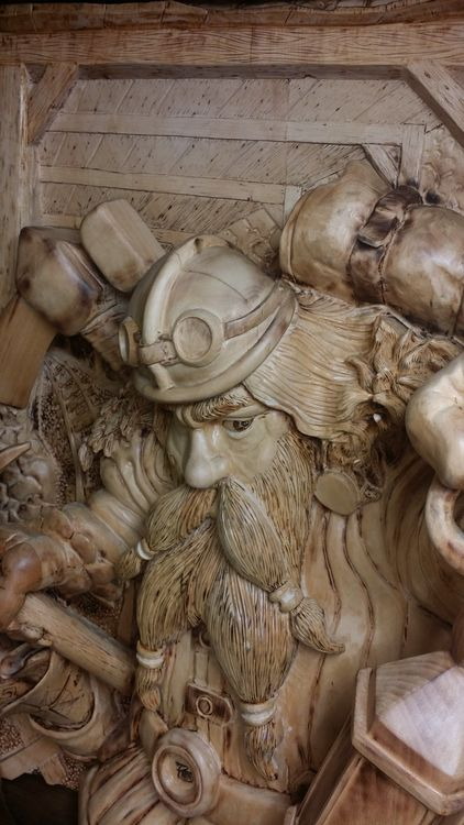 Master Miner by Randall Stoner - search and link Sculpture with SculptSite.com