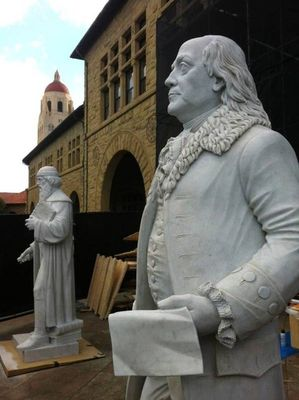 Franklin by Oleg Lobykin - search and link Sculpture with SculptSite.com