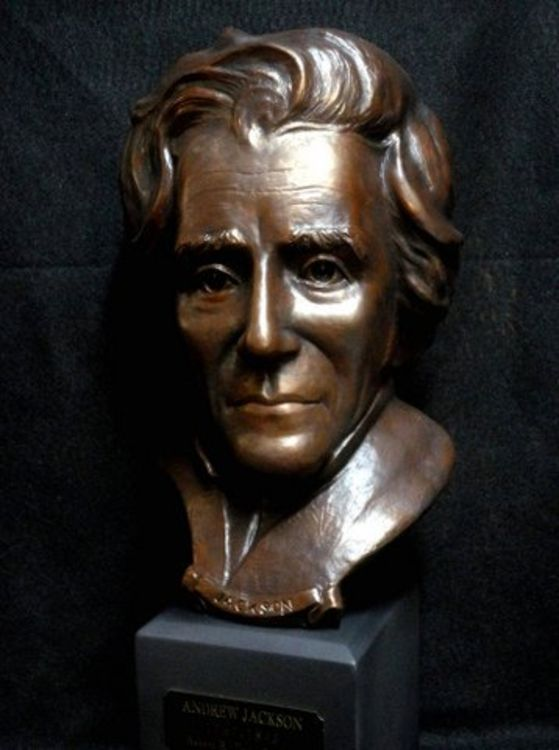 Andrew Jackson by Robert Toth - search and link Sculpture with SculptSite.com