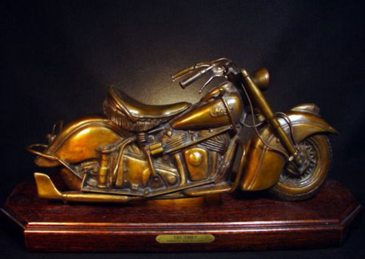 Chief Motorcycle by Robert Toth - search and link Sculpture with SculptSite.com