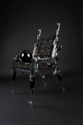 AK47 Design Chair by Weber Rainer - search and link Sculpture with SculptSite.com