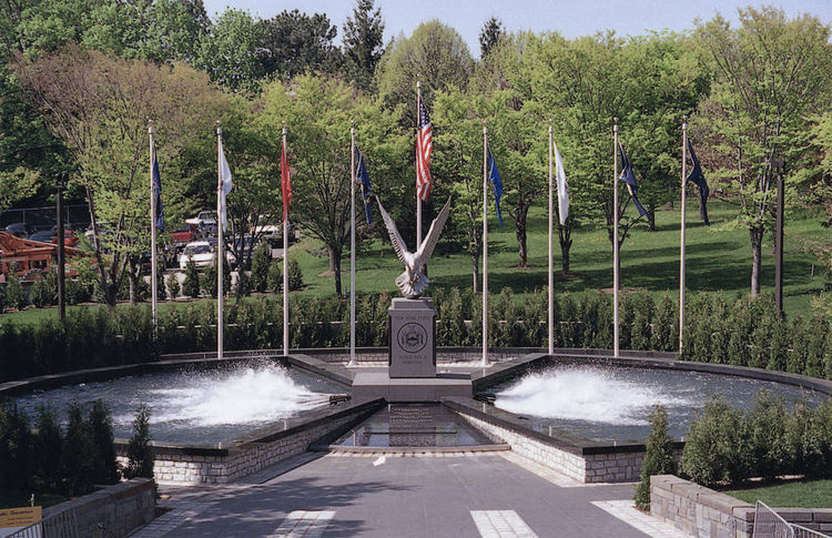 New York State WWII Memorial by Robert Eccleston - search and link Sculpture with SculptSite.com
