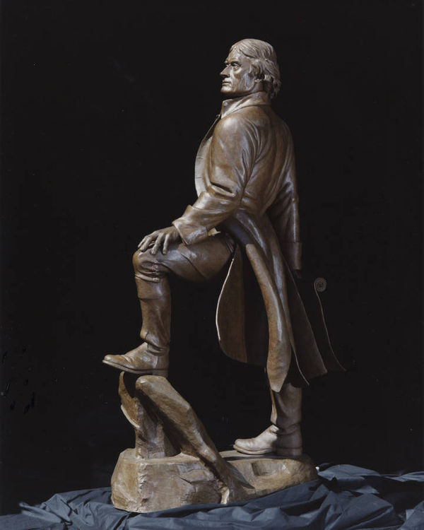 Thomas Jefferson Memorial by Robert Eccleston - search and link Sculpture with SculptSite.com